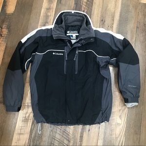 Columbia Bugaboo 2pc Winter Coat Men M